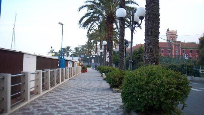 lungomare Albenga