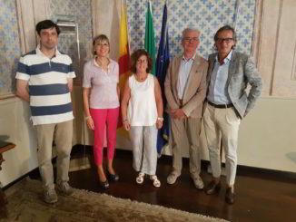 rotary club albenga inconntro con sindaco Riccardo Tomatis