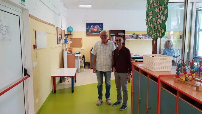 Nuova pavimentazione asilo comunale di Loano