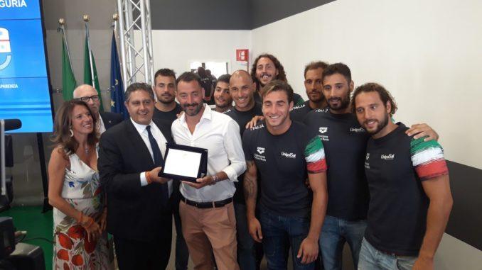 Atleti premiati in Regione Liguria