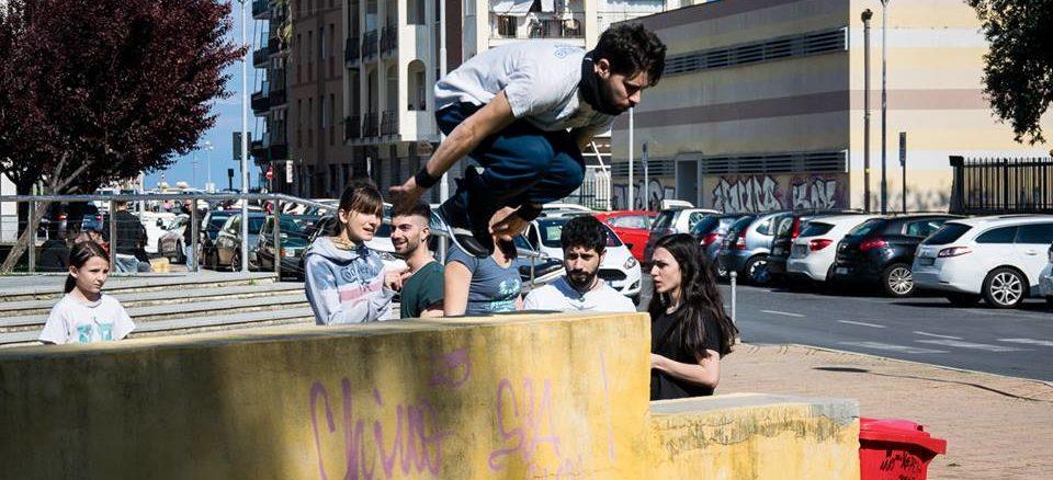 Una esibizione in piazza Europa durante i'Albenga Street Festival 2019