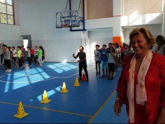 Assessore Maria Teresa Nasi e i giochi della gentilezza ad Andora
