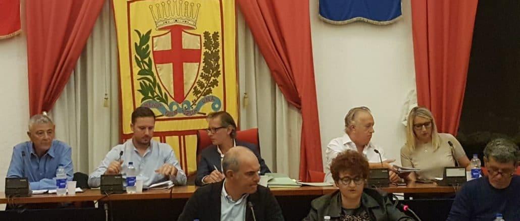 Consiglio comunale di Albenga riunito in assemblea il 26 settembre 2019
