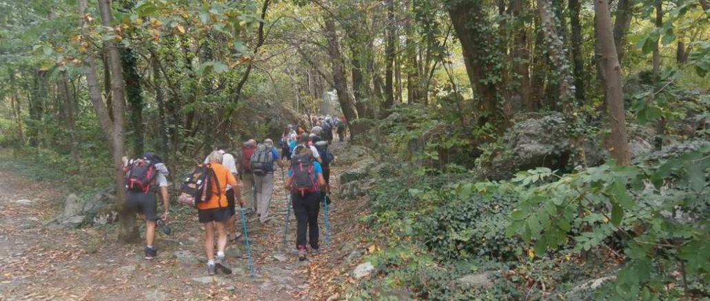 Loano non solo mare, una escursione sulla via Francigena