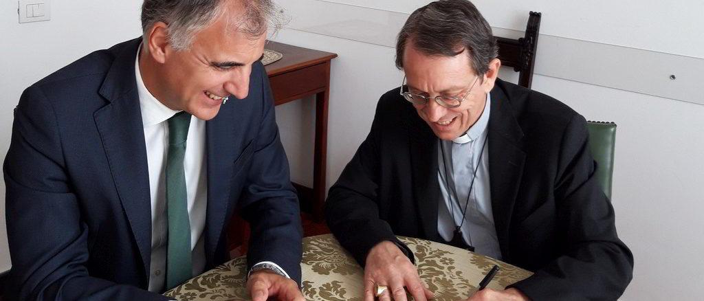 Accordo di collaborazione tra Banca Carige e Diocesi Savona