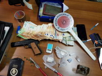 Soldi e droga sequestrata a Loano