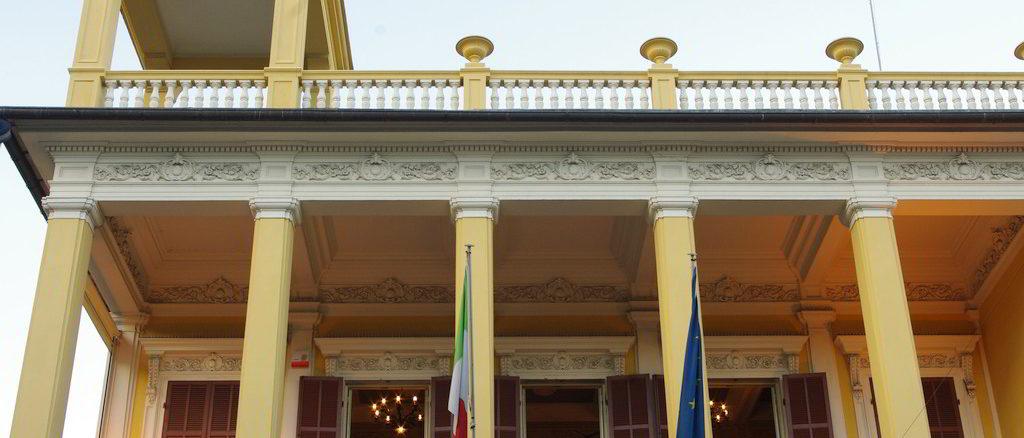Palazzo Elena Pietracaprina a Borghetto Santo Spirito