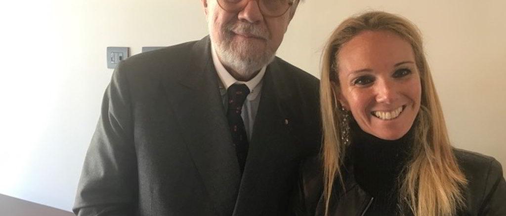Chiara Soldati e Pierfranco Quaglieni