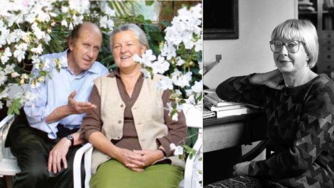 I coniugi Piacenza e Natalia Aspesi
