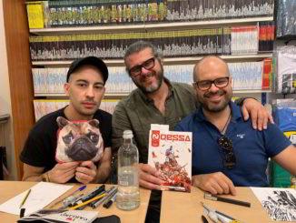 Davide Aicardi e gli autori di Sci-Fantasy Odessa