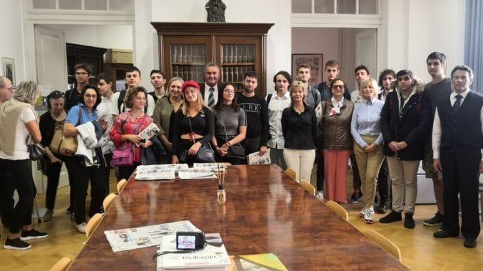 La delegazione ligure incontra la comunità italiana di Rovigno