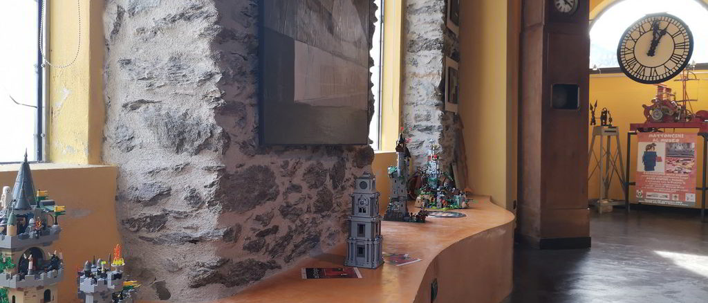 Interno del Museo Orologio da torre a Tovo San Giacomo