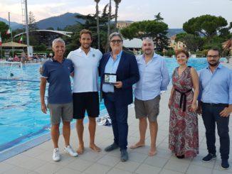 Premiazione di Matteo Aicardi a Loano