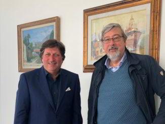 Francesco Bonasera e Roberto Levrero