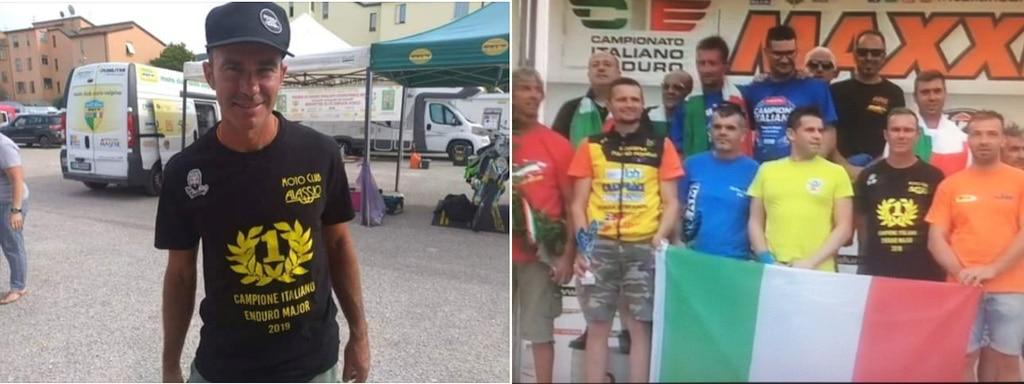 Francesco Sibelli vince il titolo Italiano Enduro 2019