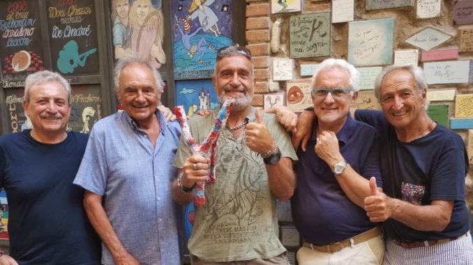 Sergio Giusto e i Fieui di caruggi di Albenga