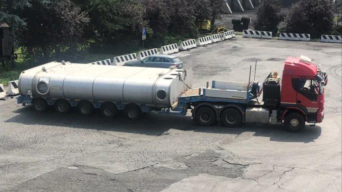 Nuovo condensatore delle Italiana Coke a Cairo Montenotte