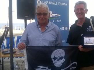 Lega Navale Ceriale e bandiera Sea Shepherd