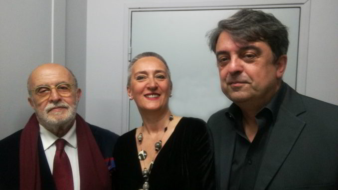 Franco Bonfanti, Elena Buttiero e Ferdinando Molteni