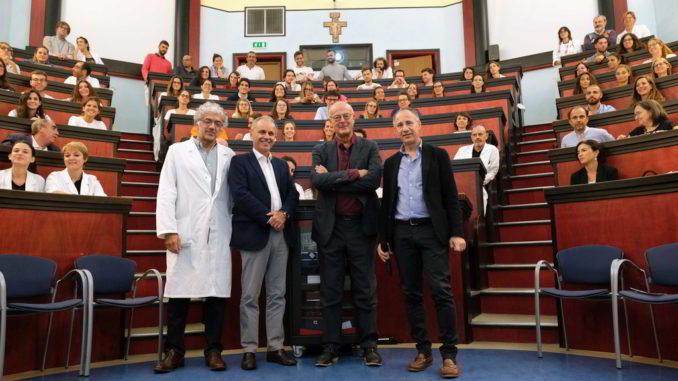 Nobili Ravelli Minetti Petralia al Gaslini di GEnova