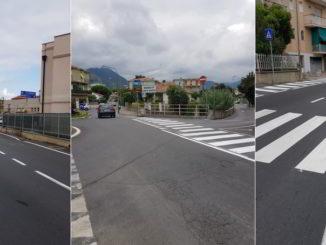 Nuova segnaletica nelle strade di Loano