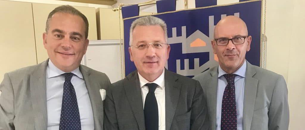Pierangelo Olivieri, Pierluigi Peracchini e Domenico Abbo