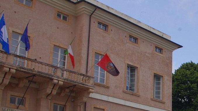 Palazzo Doria, Municipio palazzo comunale di Loano