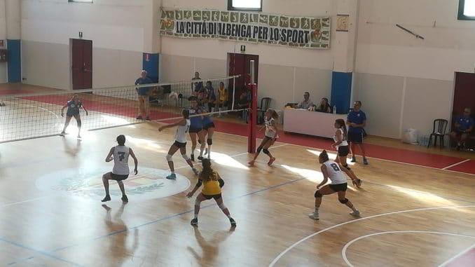 Partita di pallavolo ad Albenga