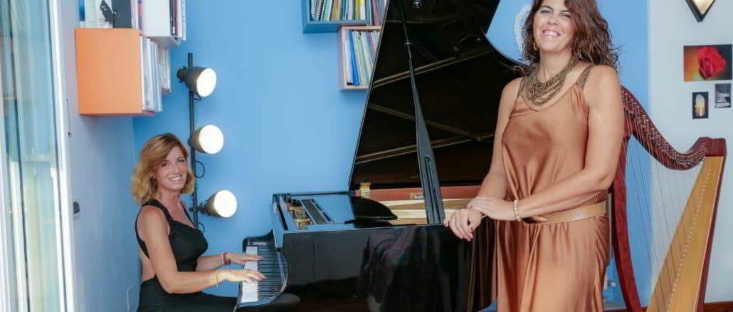 Paola Lepore e Chantalle Allomello