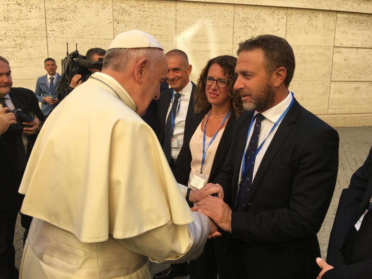 Piana con Bergoglio