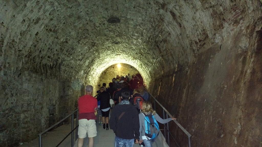 Una visita ai sotterranei della Fortezza Priamàr di Savona