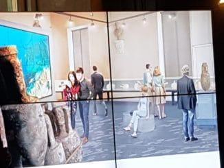 Prospetto del nuovo allestimento Museo navale di Albenga