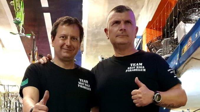Roberto Peluffo e Davide Carosa ASD Krav Maga Parabellum Loano