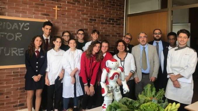 Robot Nao progetto Alassio Albenga