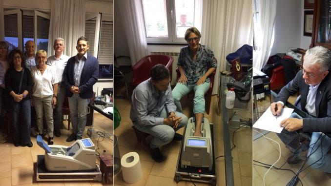 Rotary club Albenga e moc prevenzione osteoporosi