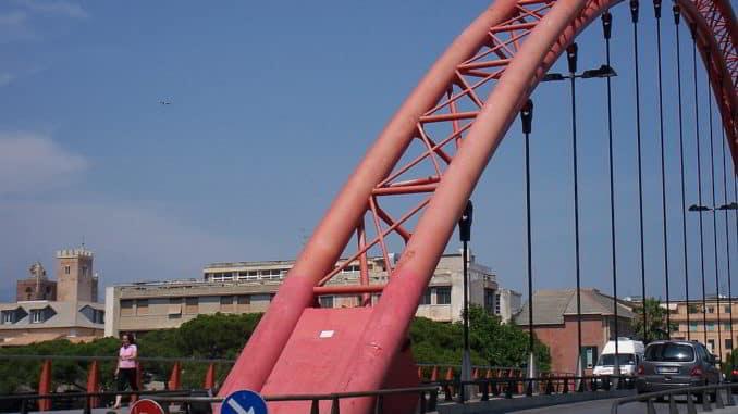 Vadino il Ponte rosso di Albenga