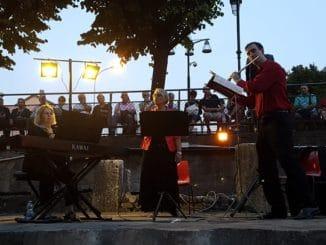 Pentatre in concerto nel sito archeologico della Basilica paleocristiana di San Vittore ad Albenga