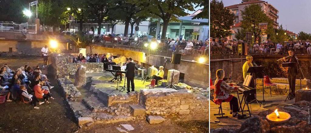 Concerto al tramonto ad Albenga nel sito archeologico della basilica paleocristiana di San Vittore