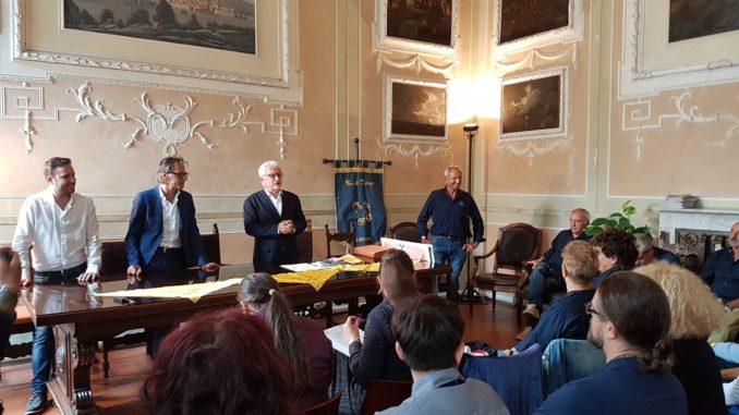Conferenza stampra per la presentazione di Ottobre De Andrè 2019 ad Albenga