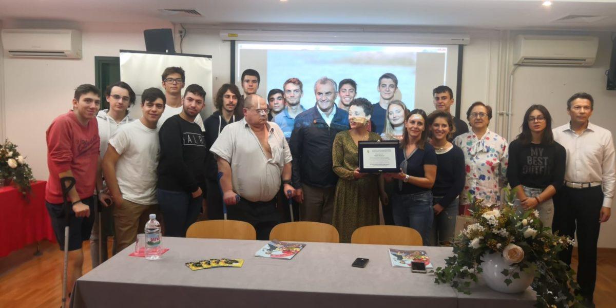 delegazione alla comunità italiana di Rovigno
