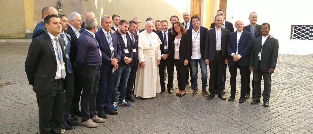 Delegazione Consiglio regionale Liguria con Papa Francesco