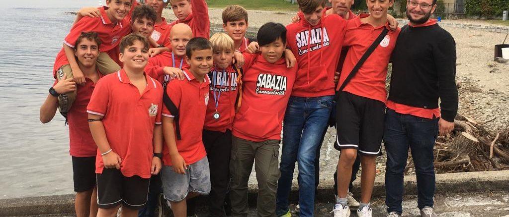 il gruppo Canottieri Sabatia a Verbania