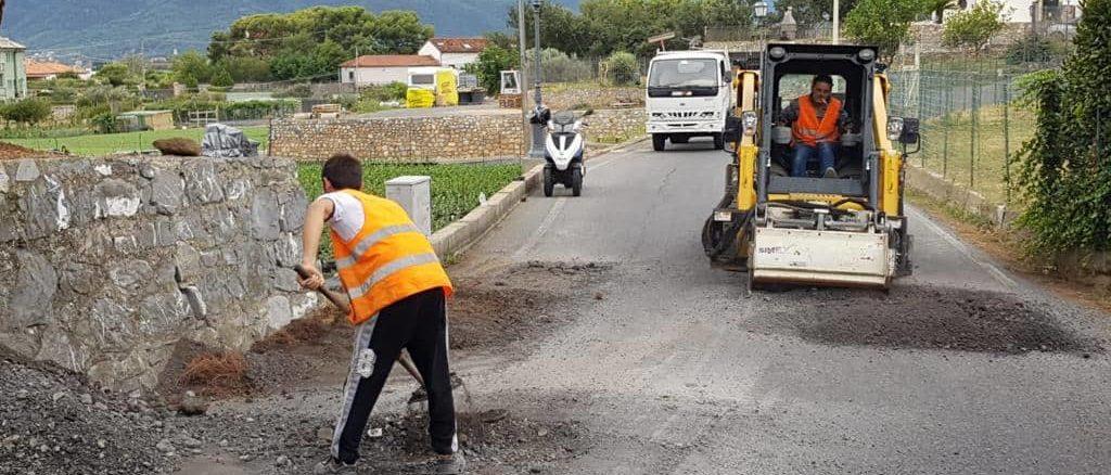 Lavori in corso ad Albenga