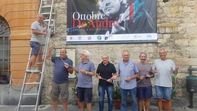 I Fieui di caruggi di Albenga allestiscono Ottobre De Andrè