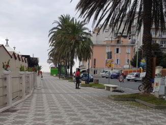 Passeggiata del Lungomare di Albenga