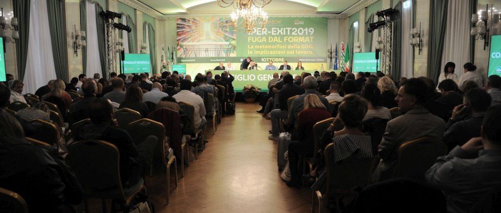 Consiglio generale della Fisascat Cisl a Roma