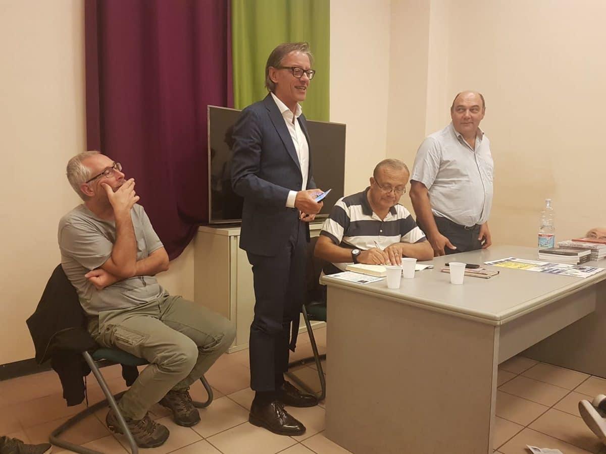 01 Giovanni Impastato alla Sala Conferenze dello YEPP – Centro Giovani di Albenga
