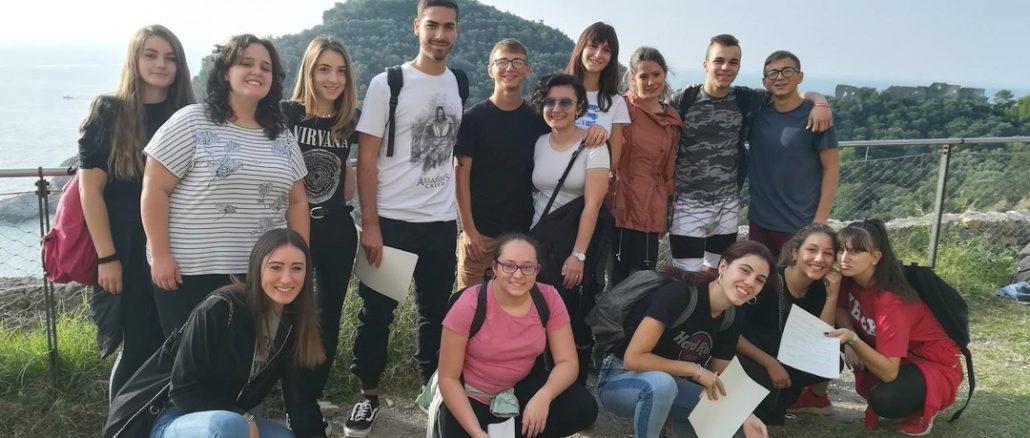 Studenti progetto Istituto Falcone di Loano School in Europe Europe in School