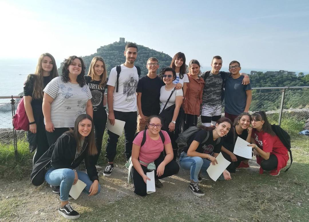 01 Istituto Falcone di Loano School in Europe Europe in School