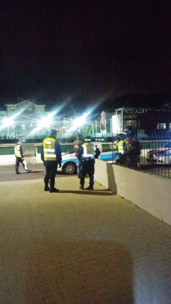 01 Polizia locale di Albenga in azione
